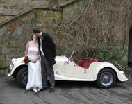 Wedding car hire - Morgan