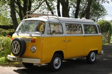 VW Camper Van (Yellow)