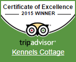 Trip Advisor 2015 Certificate of Excellence